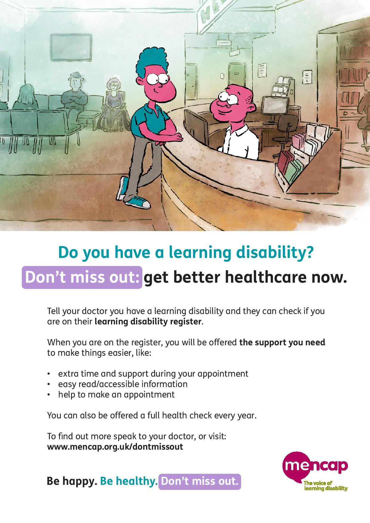 Learning Disability Poster